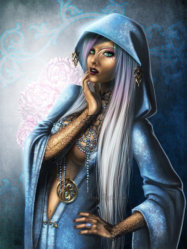 Priestess Fantasy Art Women Fantasy Art Fantasy Women