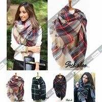 ★Condition:100% Brand New ★ Material: wool blend ★Package: 1pc high quality scarf  NO1 & NO3 & NO5 ★