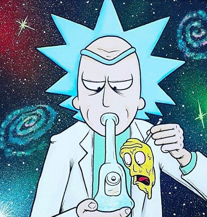 Rick and Morty • OverdoseArt Rick and Morty Pinterest