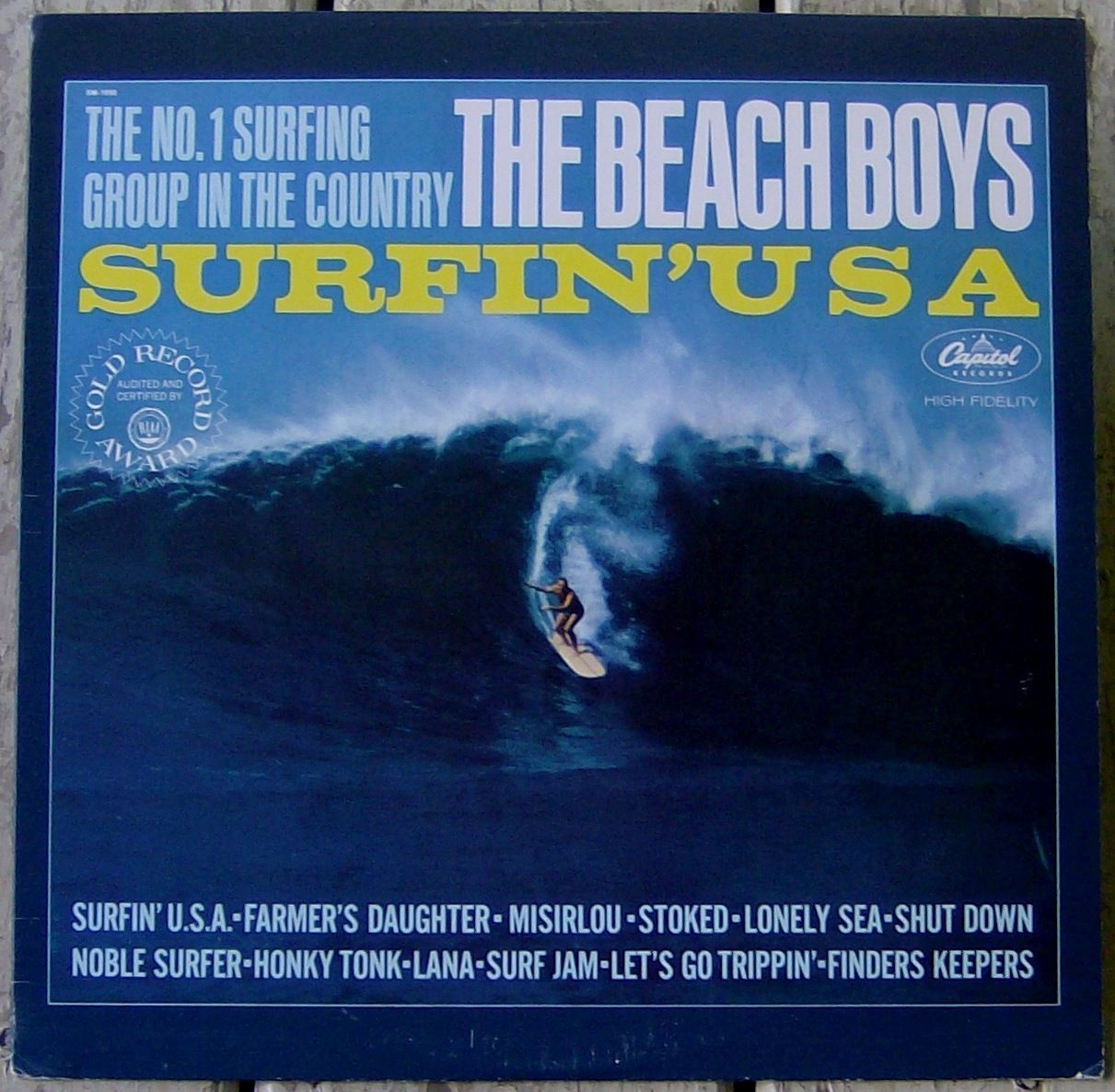 Surfin Usa Beach Boys Album Covers The Beach Boys Surf