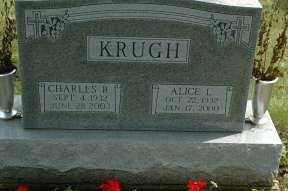 Charles R Krugh (1932 - 2003)  and wife Alice Locke Krugh.