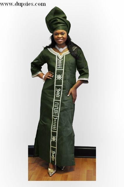 elegant African women attire   Black women style ...