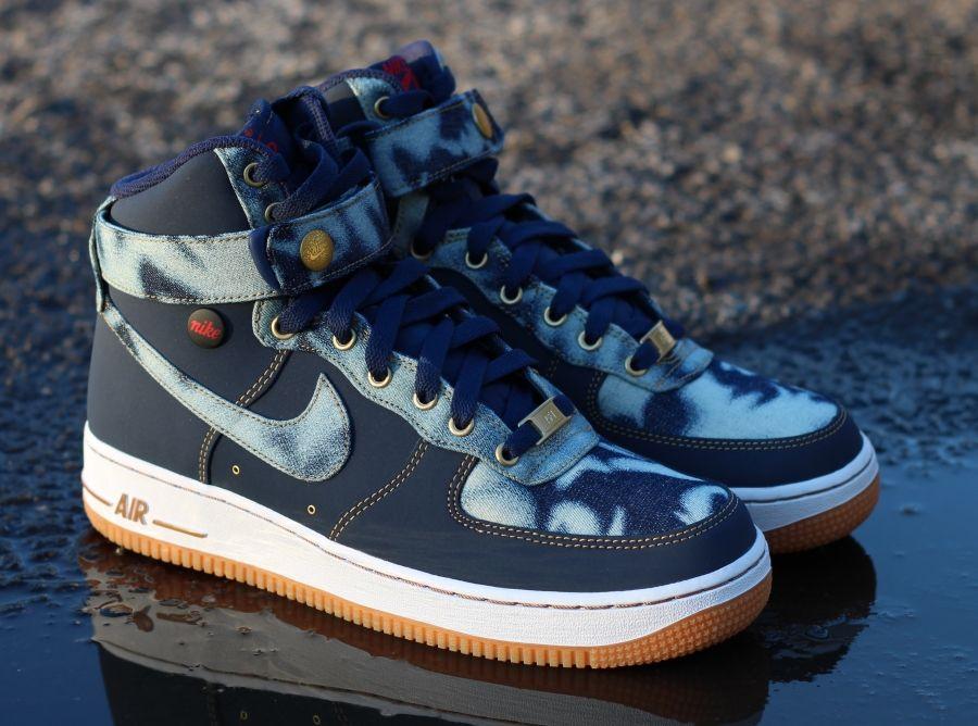 "1 ""denim Pack Nike Force Air High CoBxreWd"