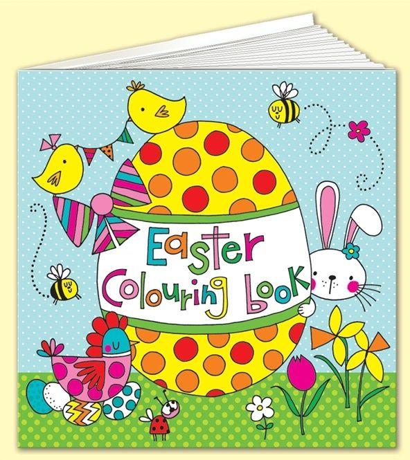 Rachel Ellen kids easter colouring book.