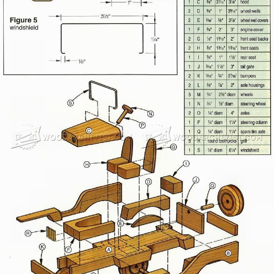 10 wooden toy plans designs no. 715 simple wooden toy