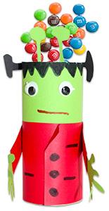 Monstre en rouleau en carton - Bricolage rouleau papier toilette sur Tête à modeler #rouleaupapiertoilette Monstre en rouleau en carton - Bricolage rouleau papier toilette sur Tête à modeler #rouleaupapiertoilette