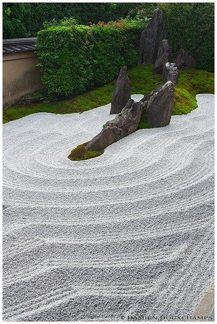 Zen garden, Zuiho-in (瑞峯院) Zen Pinterest Jardines zen, Zen - jardines zen