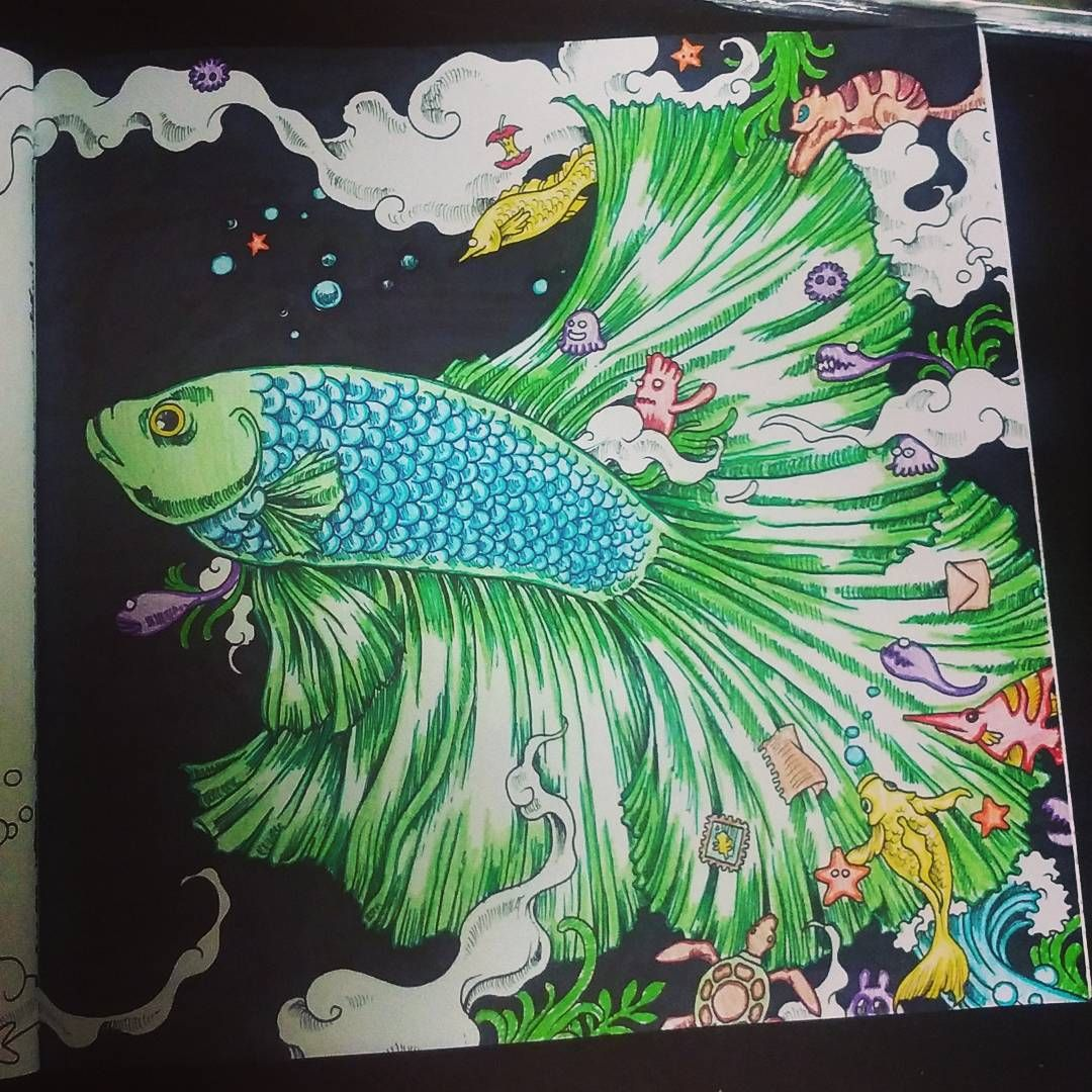 Part 3 Of My Now Finished Beautiful Beta Find This Pin And More On Color Book Animorphia