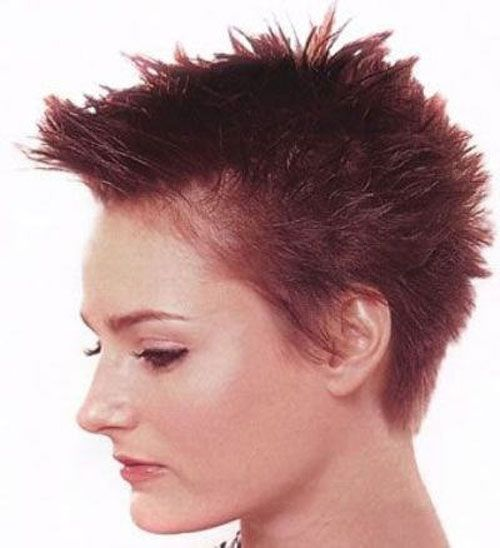 Gorgeous Short Spiky Hairstyles For Women Ideas 2016 Fashion And Styles Haircuts