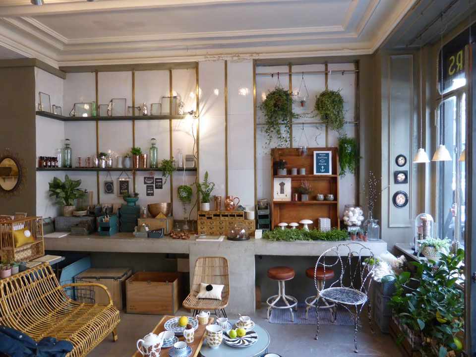 Magasin Deco Maison Paris #14: Boutique Les Fleurs, Paris | MilK Decoration