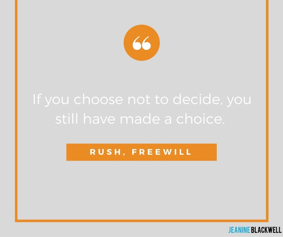 Rush, Freewill Quotes