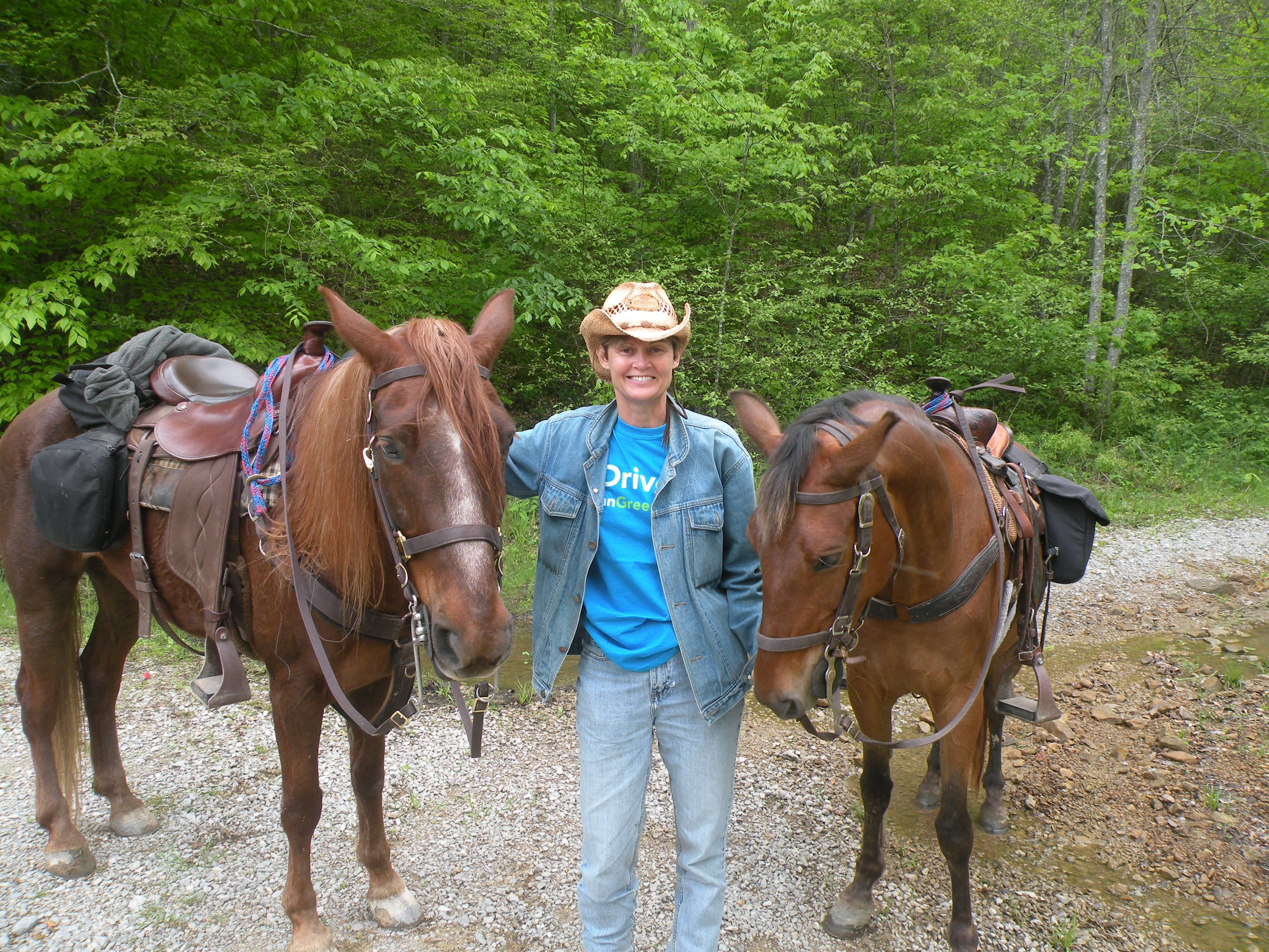 Red Hill Horse Camp, Livingston, KY. Daniel Boone National ...