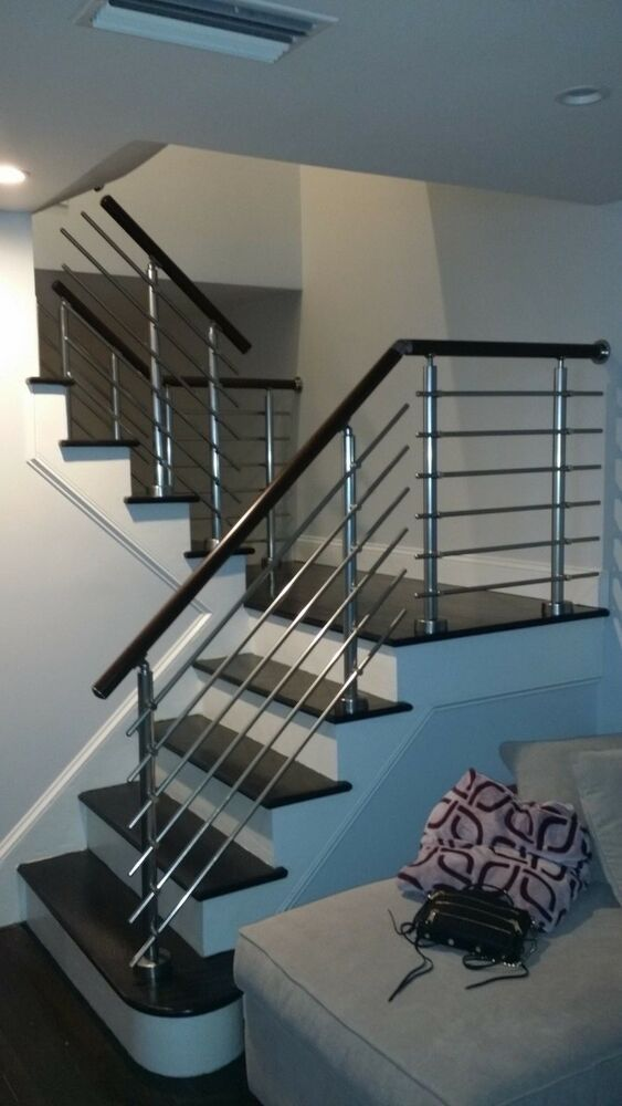 Best Details About Modern Stairs Balcony Hand Rail Staircase 400 x 300