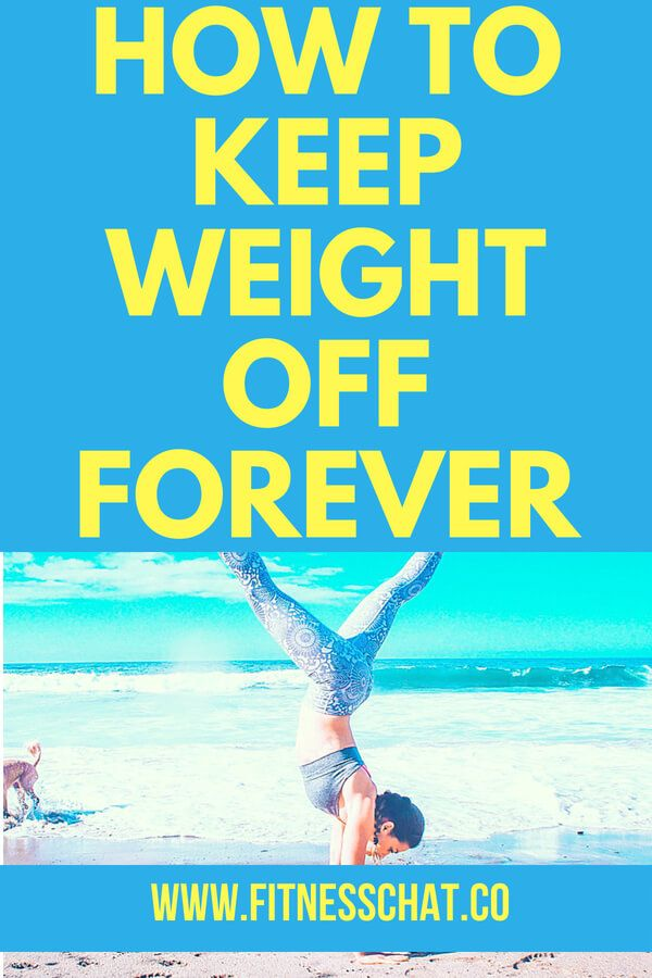 how to lose and maintain your weight