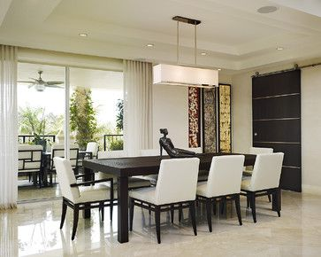 Contemporary Dining Room Light Captivating Arnold Schulman  Contemporary  Dining Room  Miami  Arnold Inspiration