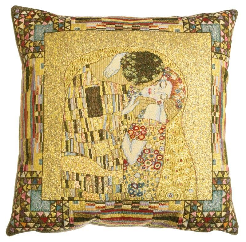 Coussin le baiser de Klimt