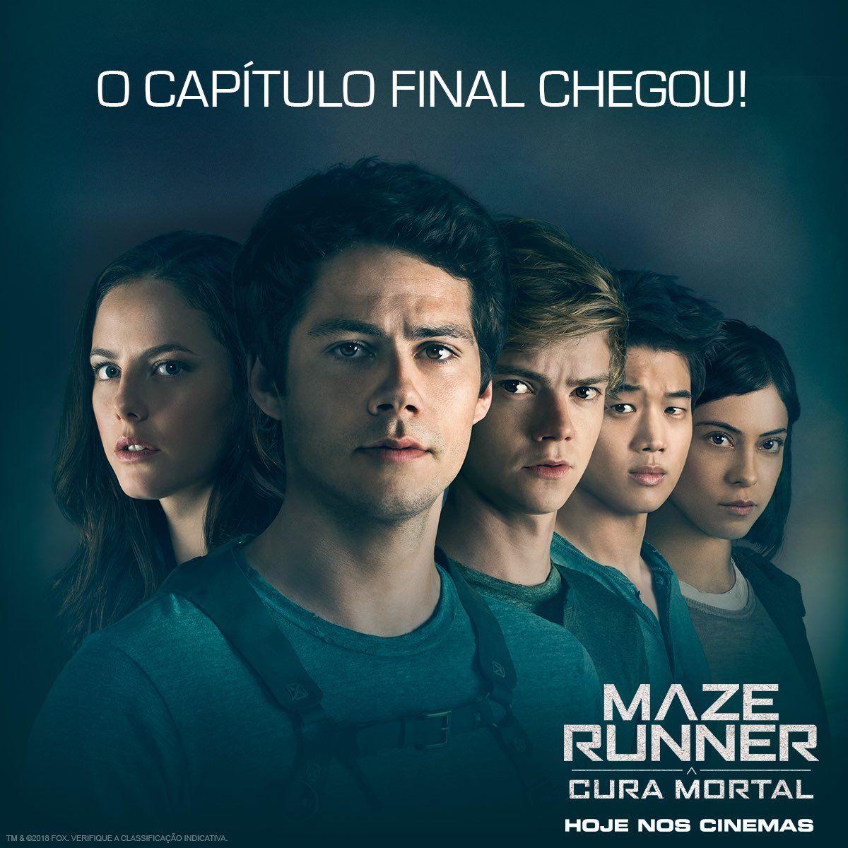 Hashtag ACuraMortal no Twitter   Maze runner, Maze, Dylan o'brien