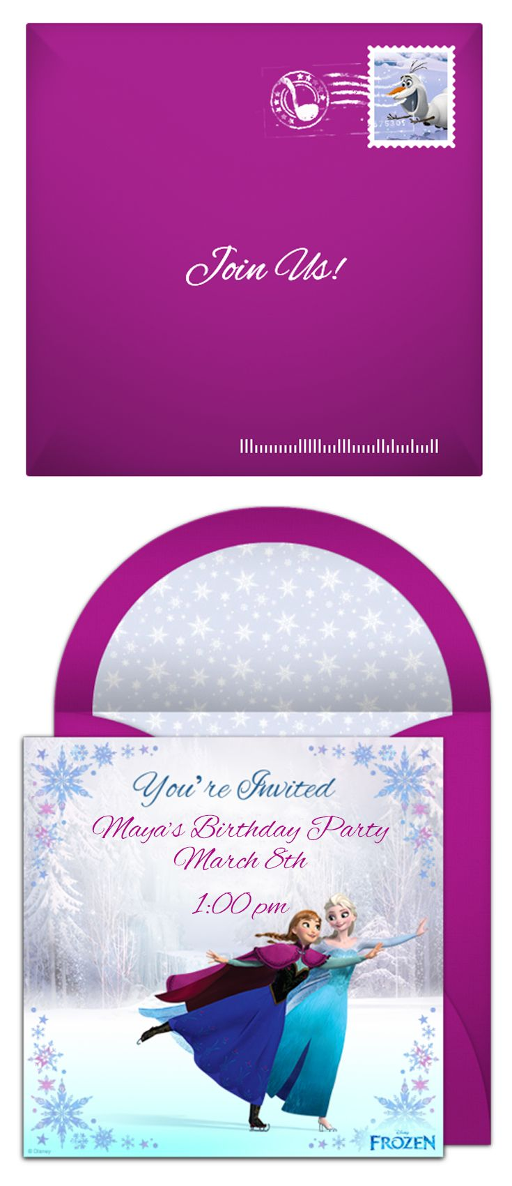 Paper invites are too formal, and emails are too casual. Get it just right…