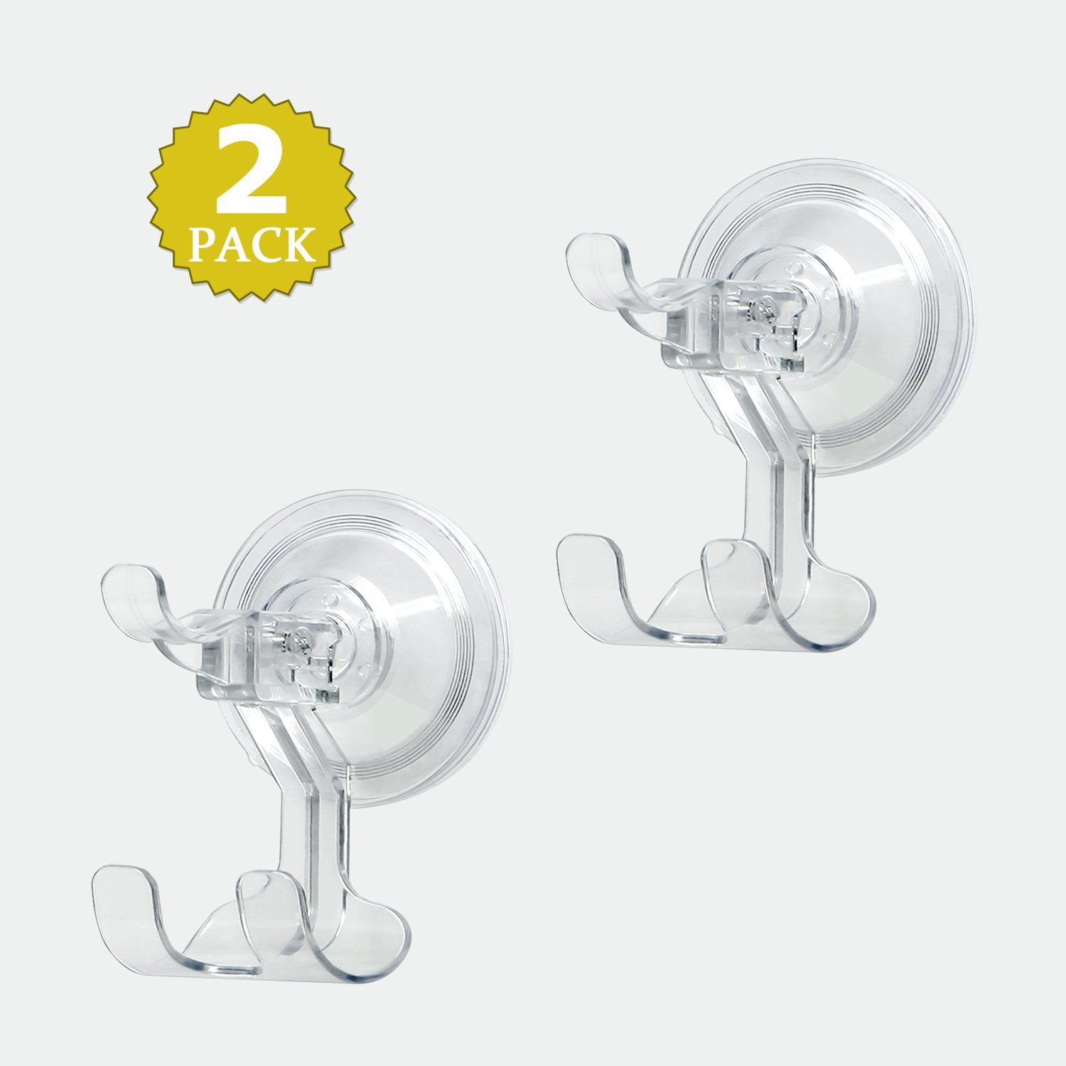 Bathroom Suction Hooks Luxear Suction Hooks Clear Plastic Vacuum Suction Cup Hooks