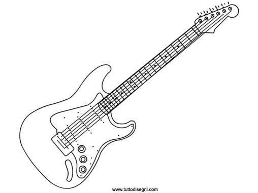 electricguitar2 coloring pages