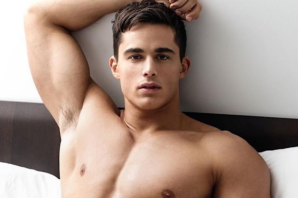 Pietro Boselli For Bench Body Ph Male Models Underwear Tops