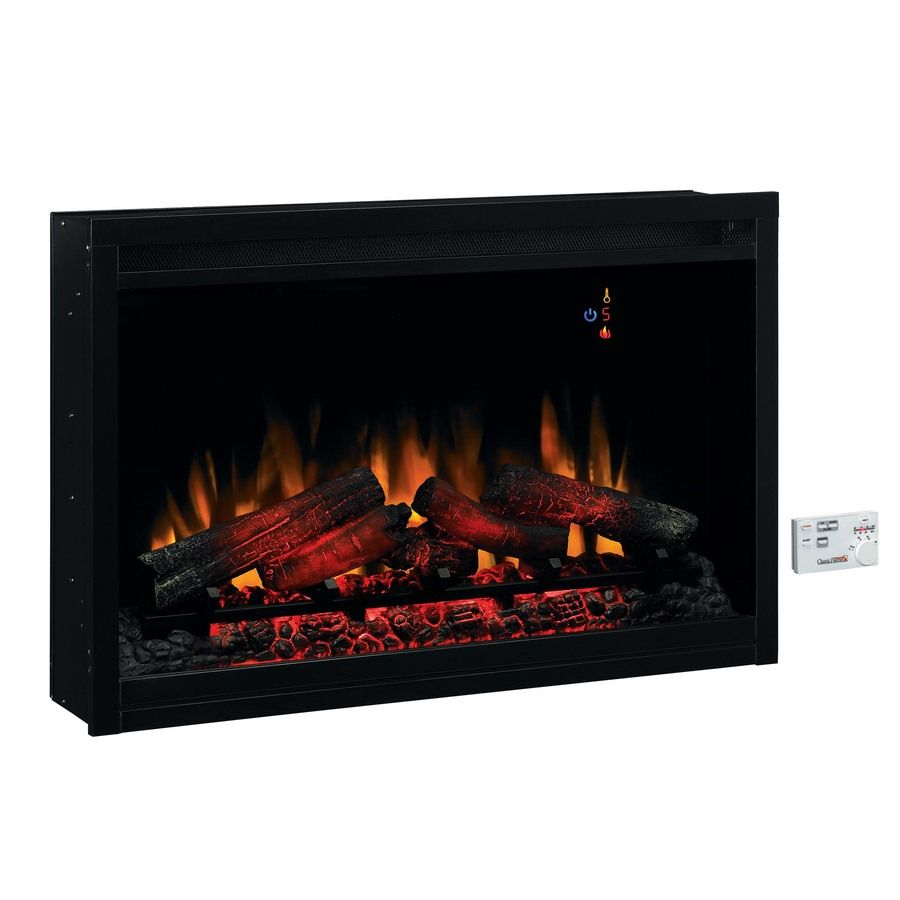 36 In Black Electric Fireplace Firebox Item 538007 Model 36eb110 Grt Be The First To Electric Fireplace Insert Electric Fireplace Fireplace Inserts