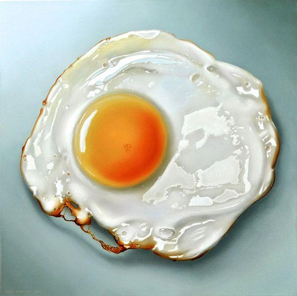 Tjalf Sparnaay : Hyperrealistic Food Paintings