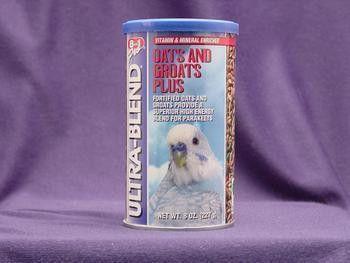 Parakeet Ultrablend Oats & Groats 8oz