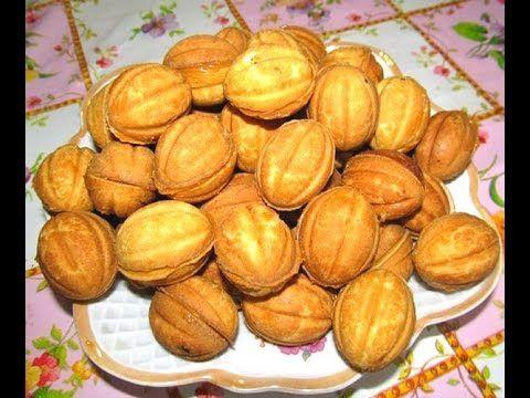 Как приготовить орешки со сгущенкой в орешнице