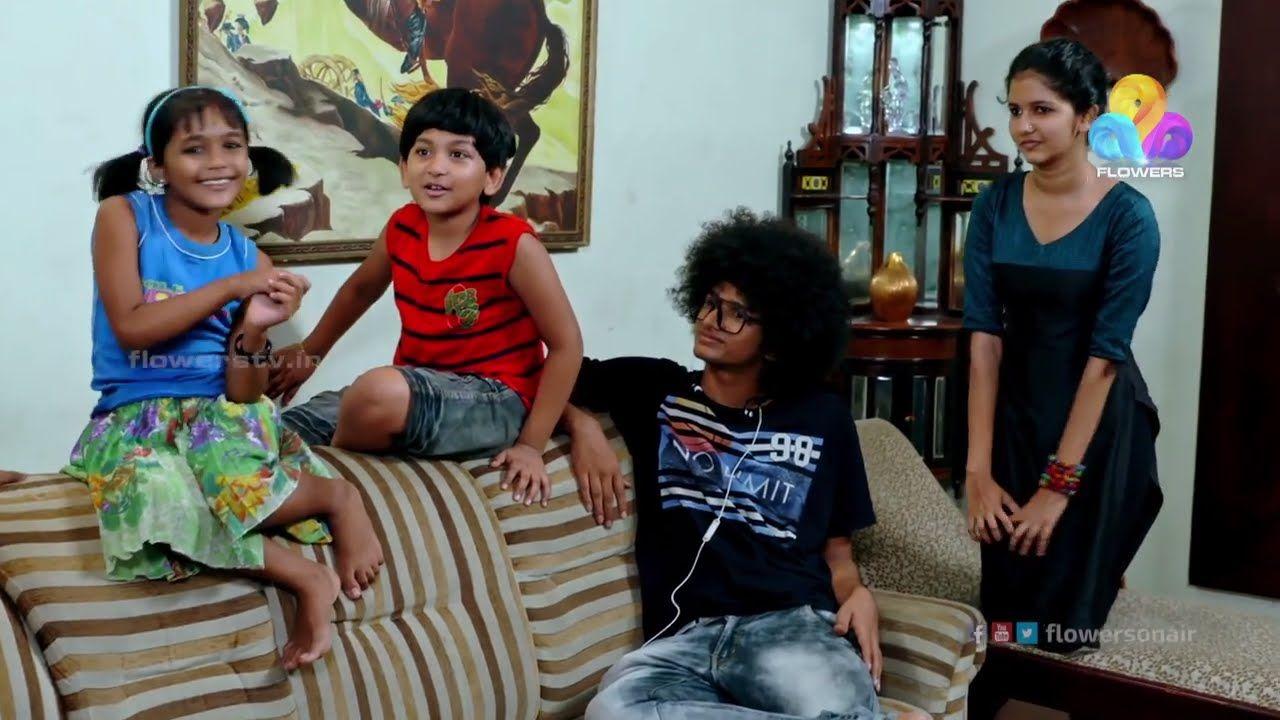 Watch Uppum Mulakum Episode 223  The sitcom features Biju Sopanam