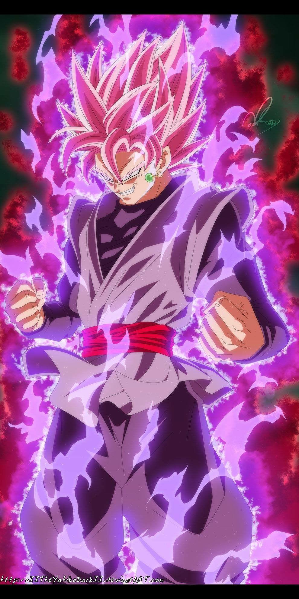 Black Ssjrose Dibujo De Goku Dibujos De Goku Black Y