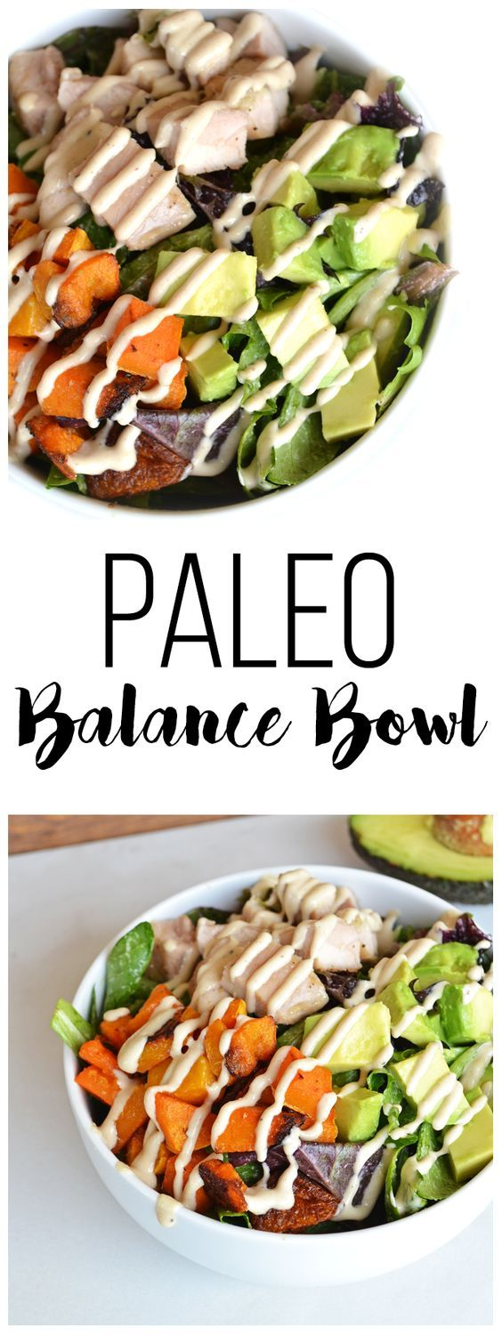 Paleo Balance Bowl Recipe Whole food recipes, Paleo