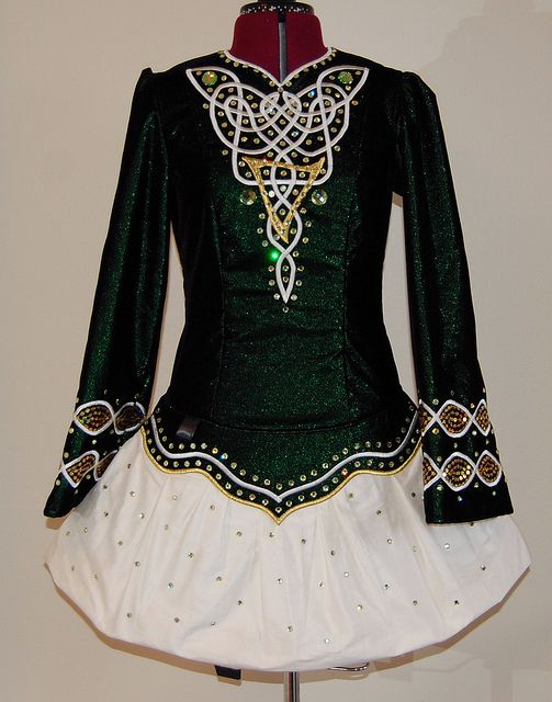 Irish dance solo dress....throwing it back to those dancing days...