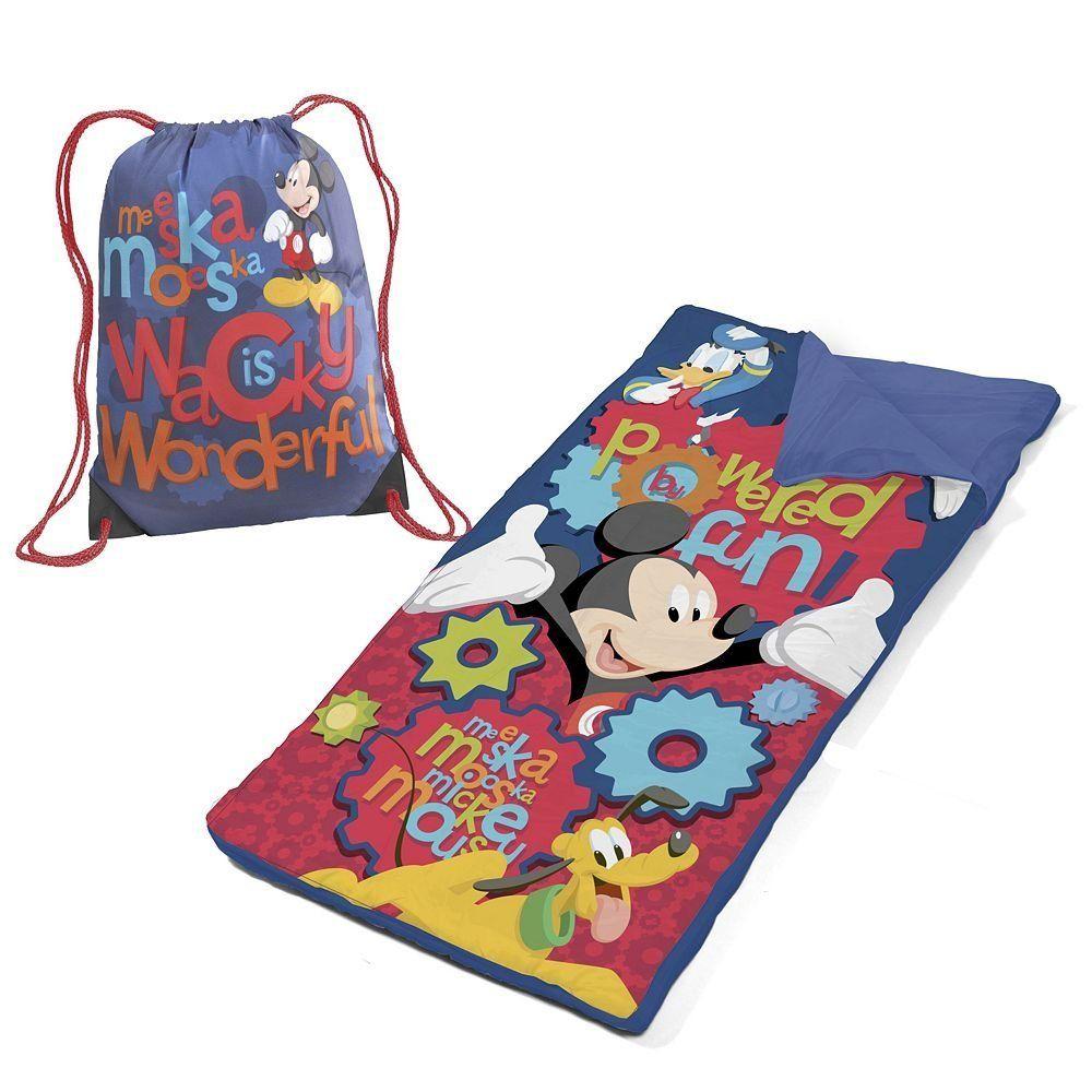 Disney Mickey Mouse Clubhouse Friends Sleeping Bag Slumber Set