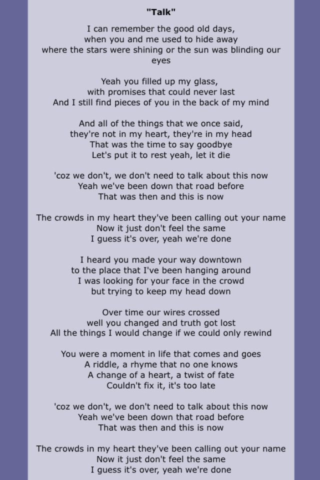 Kodaline | Song Lyrics Four | Pinterest | Songs