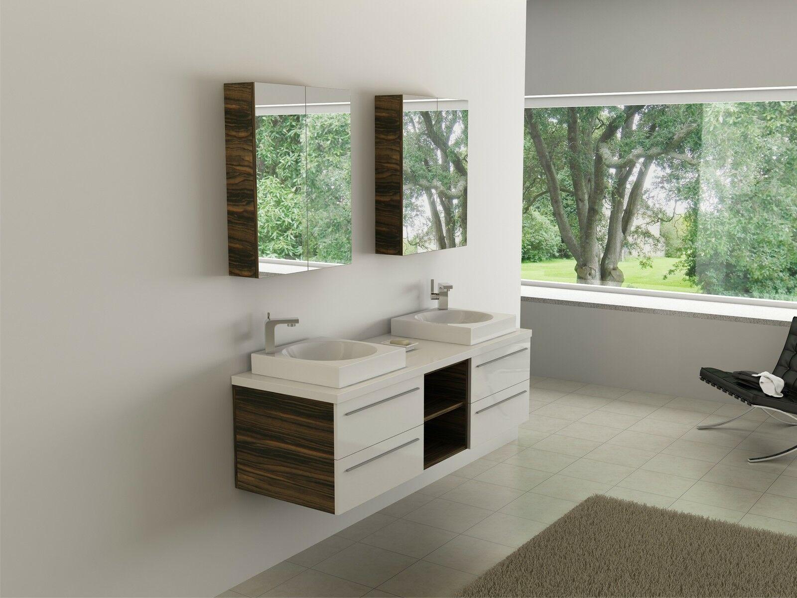 Badmobel Set Badezimmer Waschbecken Badschrank Waschtisch Gaste Wc Badregal In 2020 Badezimmer Waschbecken Badschrank Badregale