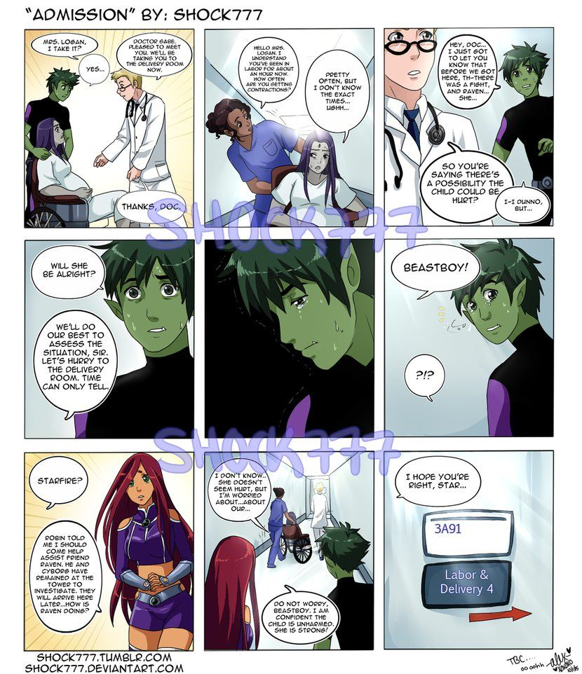 Raven Superhero And Beast Boy Admission by shock777 ...