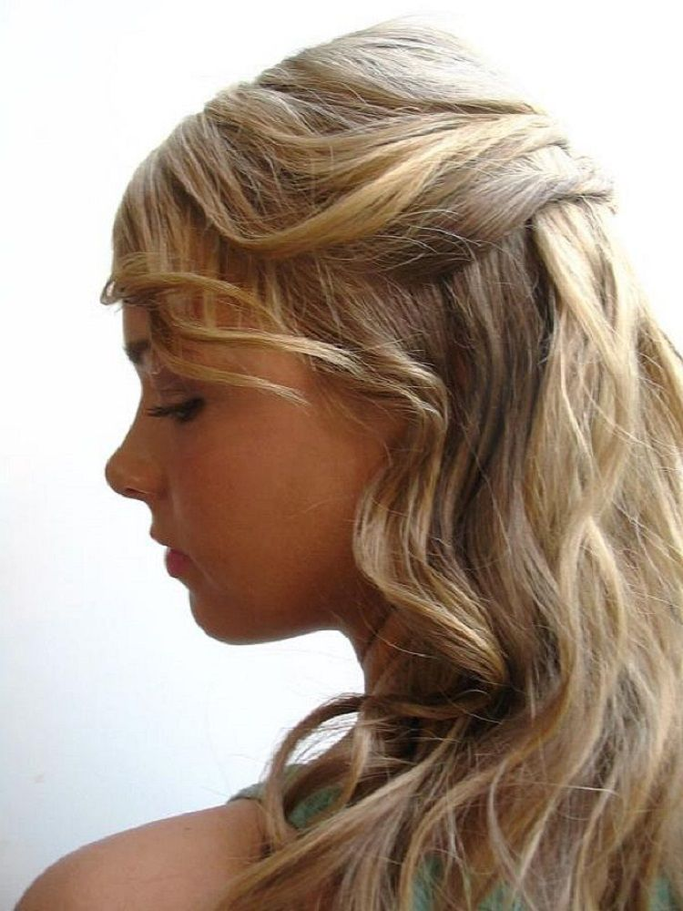 Easy Hairstyles For Long Curly Hair | Long curly hair ...