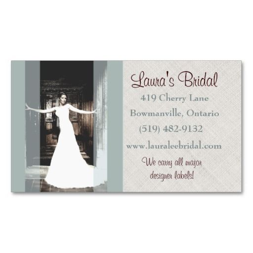 Wedding bridal stores photographer business card wedding wonders wedding bridal stores photographer business card reheart Gallery