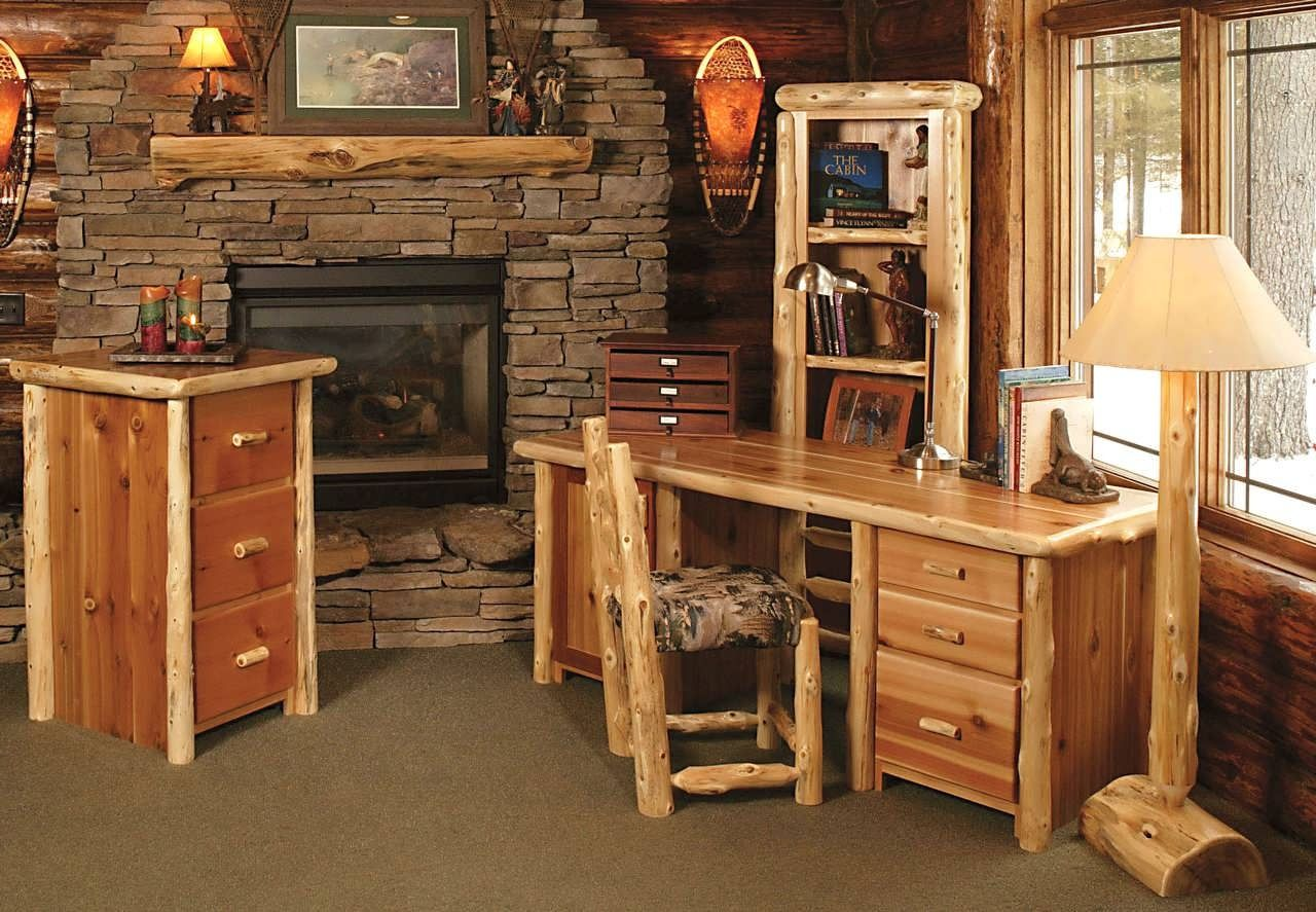 Western Office Desk   Rustic Home Office Furniture Check More At Http://www