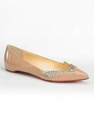 sports shoes 2267b 400b5 wholesale louboutin flat shoes ridesmaid b1513 663e8