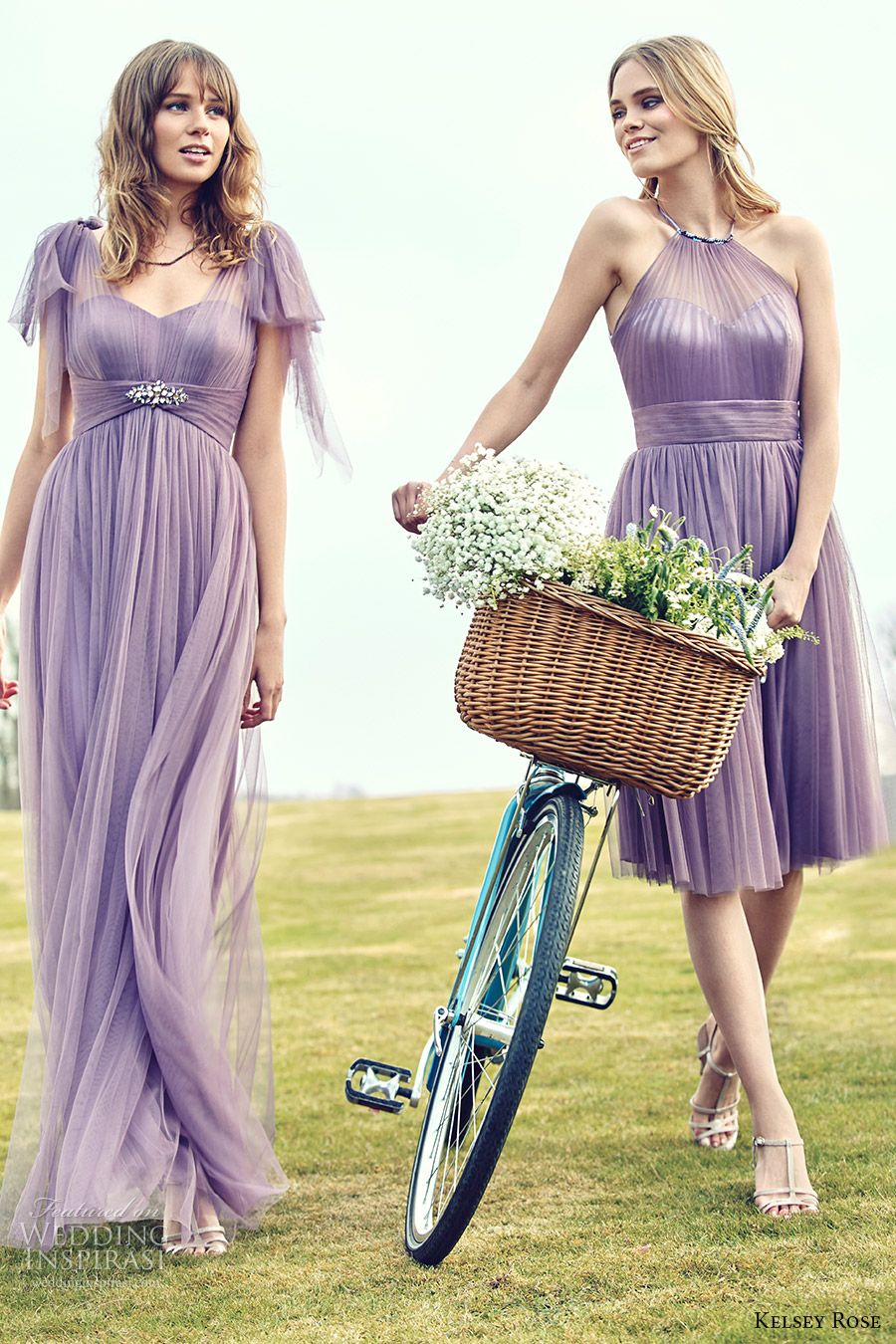 """Kelsey Rose 2016 Bridesmaid Dresses — """"Pink"""" Collection Campaign ..."""