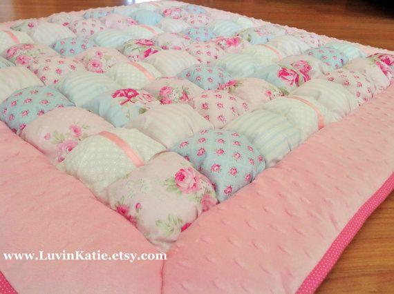 Bubble Quilt Bubble Blanket Puff Quilt Baby Floor by LuvinKatie ... : baby floor quilt - Adamdwight.com