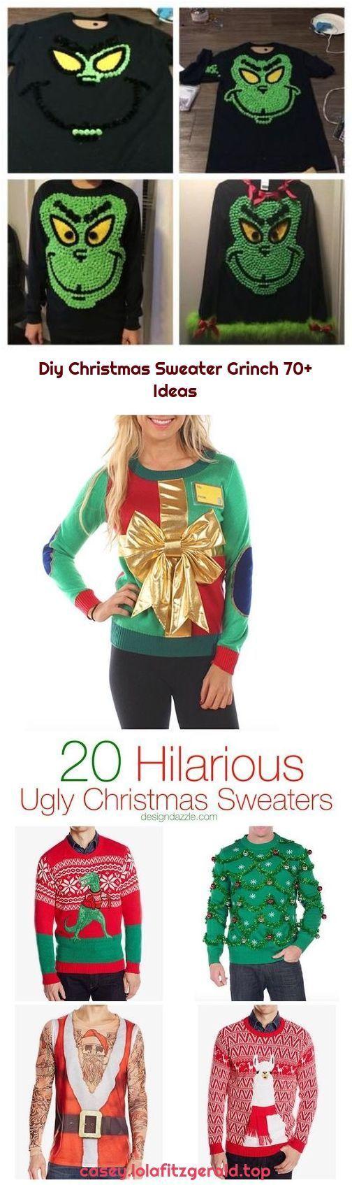 Diy Christmas Sweater Grinch 70+ Ideas christmas diy