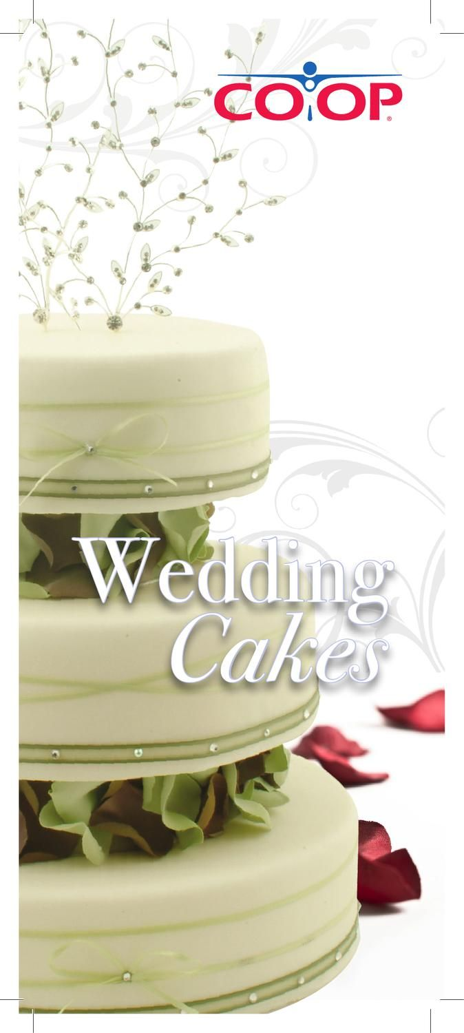 Calgary Co Op Wedding Cakes Choose The Cake To Help Make Your Day