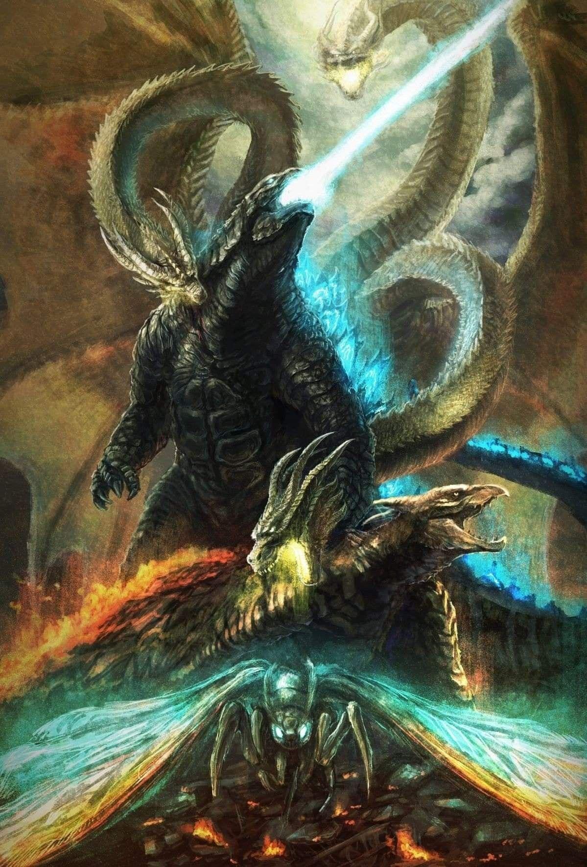 Pin de Bruno Santa Helena em Godzilla   Monstros, Godzilla