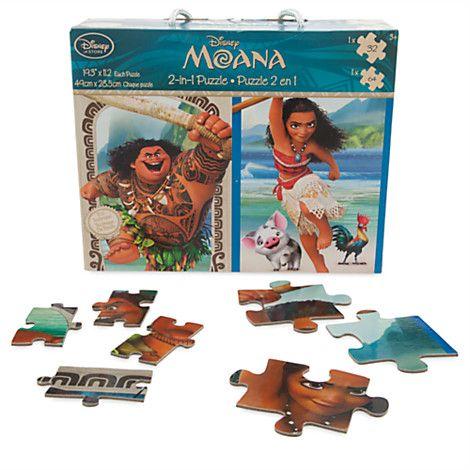 Disney Moana 2-in-1 Puzzle | Disney Store | Moana Shop | Pinterest ...