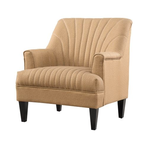 "Found it at Wayfair.ca - Cliffe Channel Back Club Chair_34.64"" H x 30.5"" W x 28.5"" D_$362"