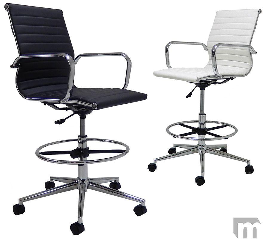 Strange Modern Classic Office Stool W 23 32 Seat Height Office Theyellowbook Wood Chair Design Ideas Theyellowbookinfo