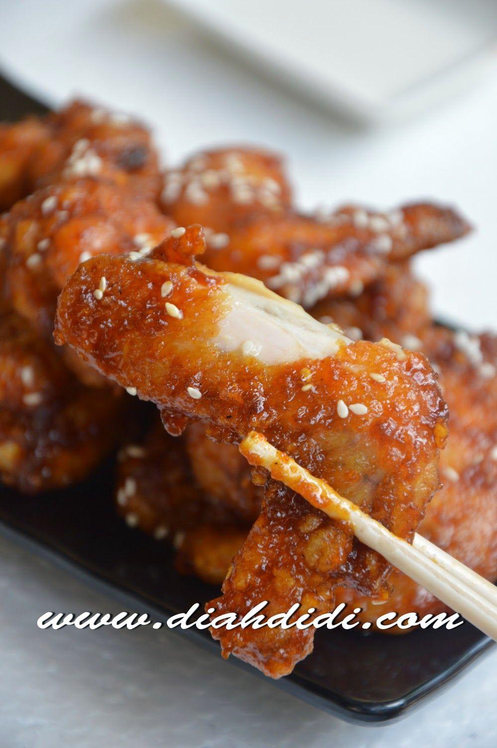 Resep Resep Sweet Spicy Korean Fried Chicken Ayam Goreng Pedas Ala Korea Oleh Mary Resep Resep Masakan Ayam Goreng Ayam Goreng Korea